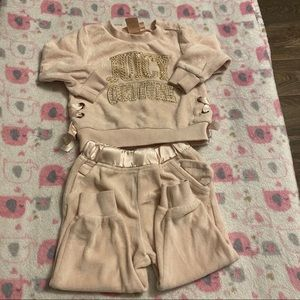 Juicy Couture Jogging Suit Set size 12m